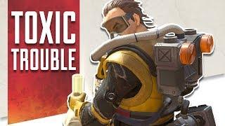 Apex Legends   Toxic Trouble w/ Caustic + Giveaways!