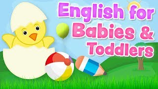 English for babies and toddlers (0-3 years) - Basic vocabulary