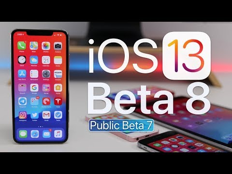 iOS 13 Beta 8 is out! - What's New?