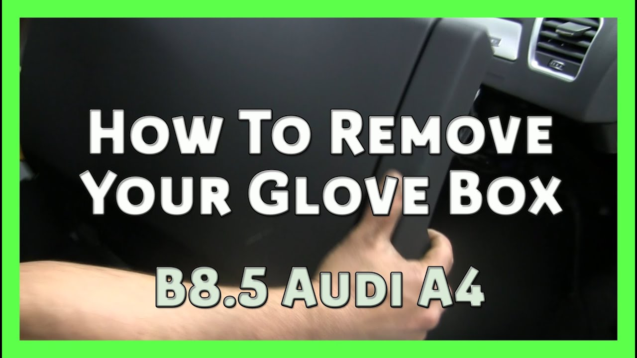 maxresdefault how to remove your glove box audi a4 b8 b8 5 2008 2014 (wolf 2013 audi a4 fuse box location at soozxer.org