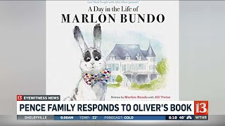 Pence family responds to Oliver's book