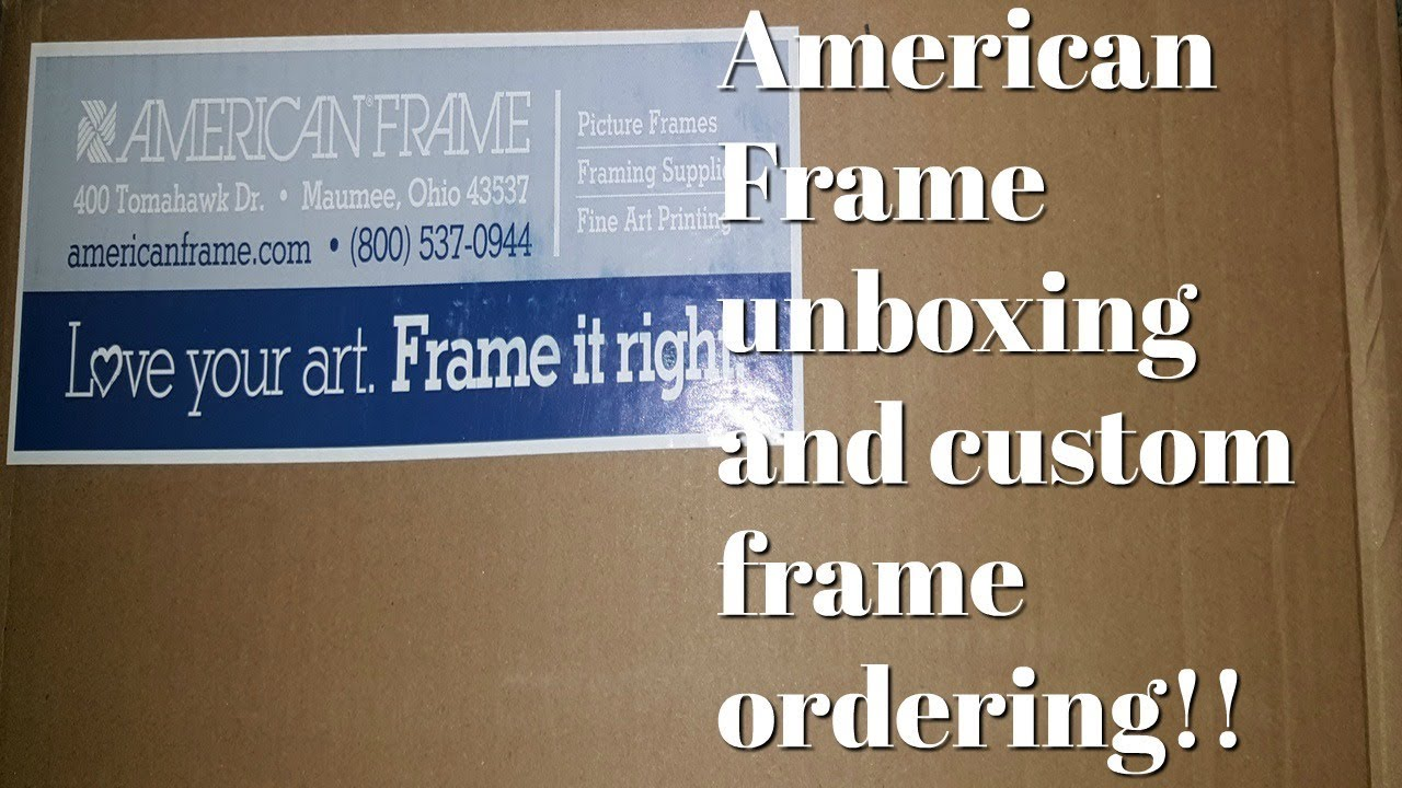 Floss 197 American Frame Unboxing And Ordering A Custom