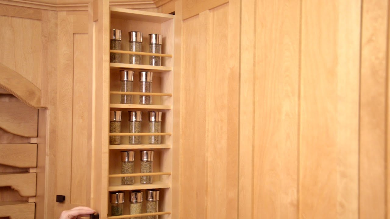 PullOut Spice Rack  YouTube