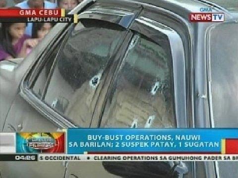 Buy bust operation sa Lapu-lapu City, nauwi sa barilan; 2 suspek patay, 1 sugatan