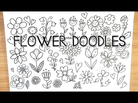 Spring flower doodles doodle with me youtube spring flower doodles doodle with me mightylinksfo