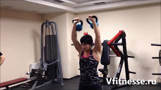 Упражнения на пресс ноги плечи бицепс трицепс