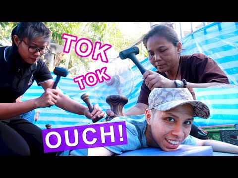 "🔨Thai ""HAMMER"" Massage (Tok Sen) 