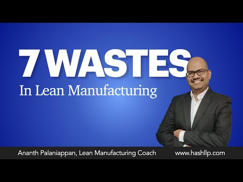 7 Wastes in Lean Manufacturing (In detail)