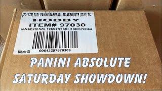 2021 PANINI ABSOLUTE BASEBALL BOX BRAWL!  (Saturday Showdown!)