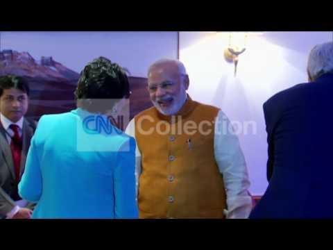 INDIA:SECRETARY KERRY MEETS PM MODI