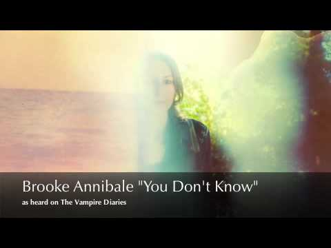 You Don't Know by Brooke Annibale