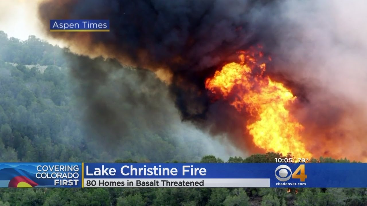 Evacuations Underway Following Target Shooting-Sparked Lake Christine Fire