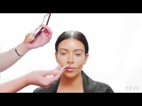 Kim Kardashian Contouring Tutorial