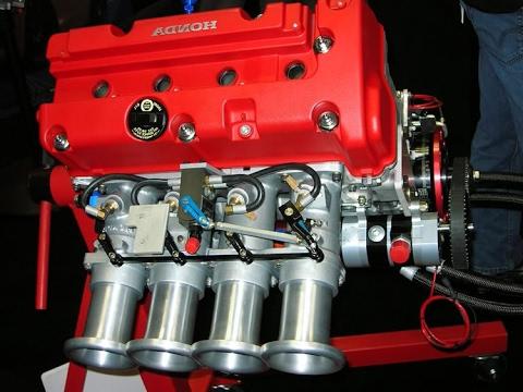 Little K24 Honda 4 Cylinder Engine Making 500hp Youtube