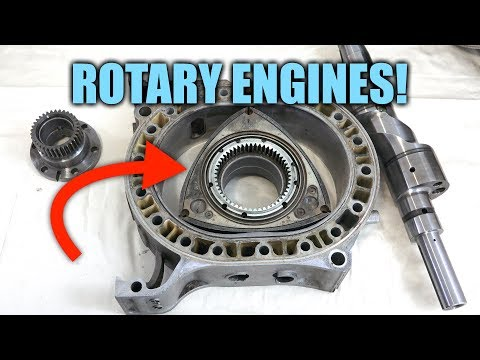 Rotary Engine - Explained
