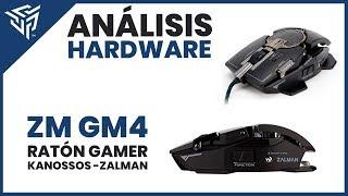 Mouse Gaming - Presentación de los ratones gaming Zalman KNOSSOS