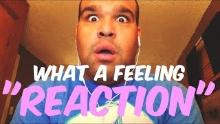 "One Direction - What A Feeling ""REACTION"""