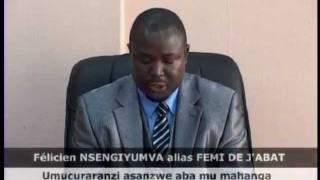 Conf�rance de presse de l'artiste Nsengiyumva Minani F�licien � l'H�tel Source du Nil