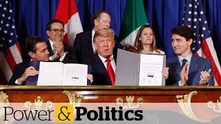 Trudeau, Trump, Pena Nieto sign new NAFTA deal | Power & Politics