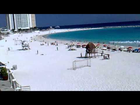 la ola mas grande en cancun