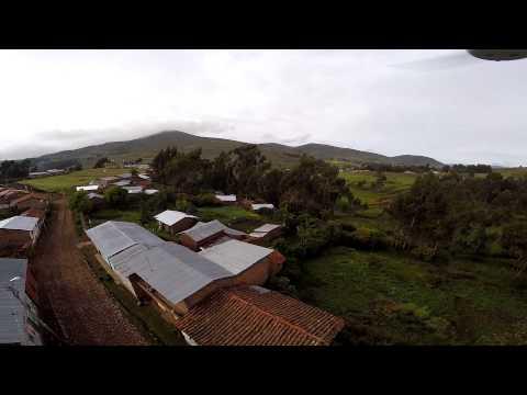 Pomatambo Vilcas Huaman - Ayacucho . Vista con drone