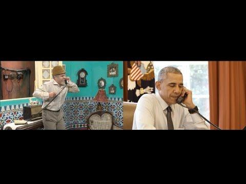 Obama se ganó a los cubanos en un sketch con el humorista Pánfilo