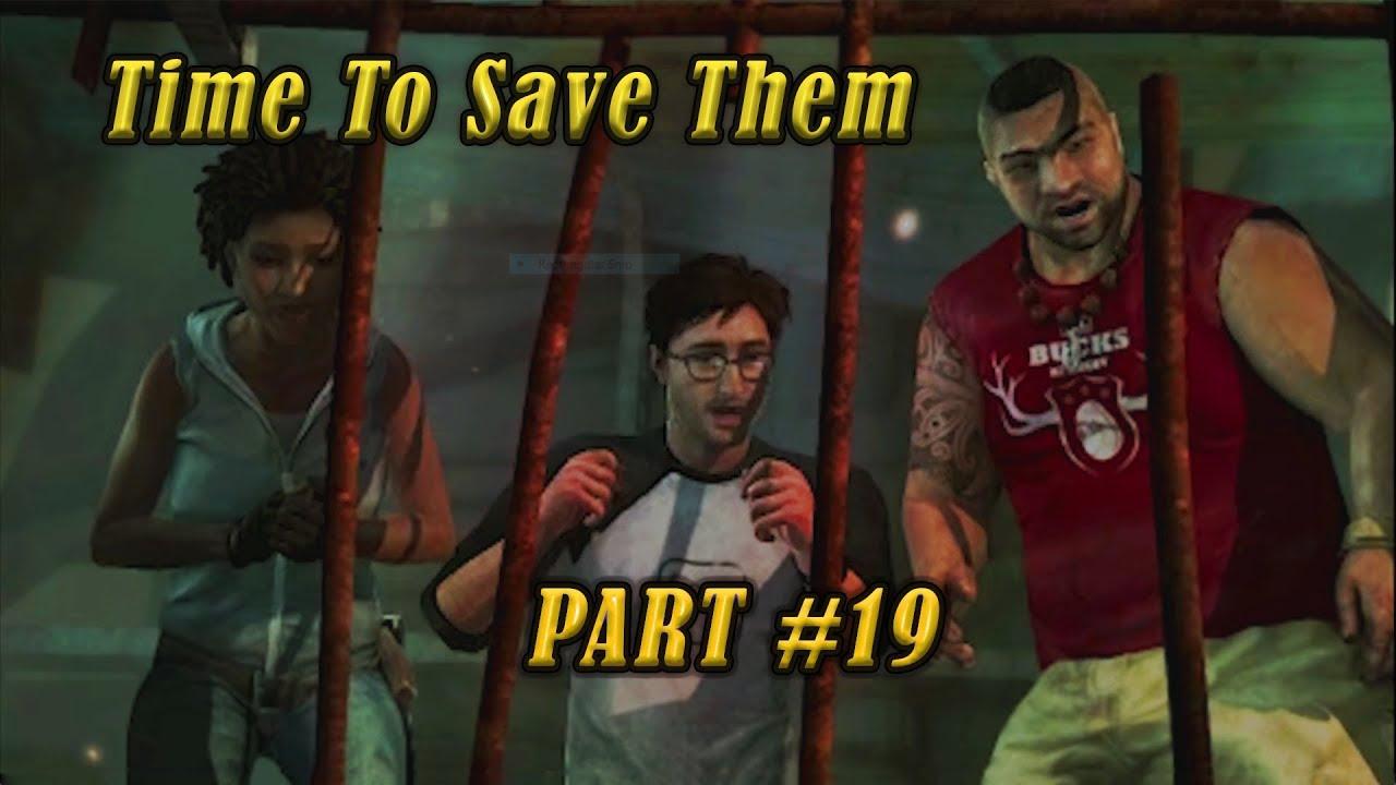 Saving Friends Of Lara Croft Tomb Raider 2013 Gameplay