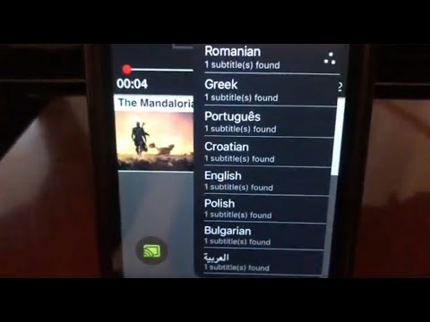 Cast Any Movie With Subtitle From IPhone IOS To Google Chromecast