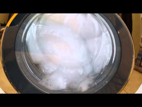 How to wash and dry pillows ! W1 WKR570WPS Miele