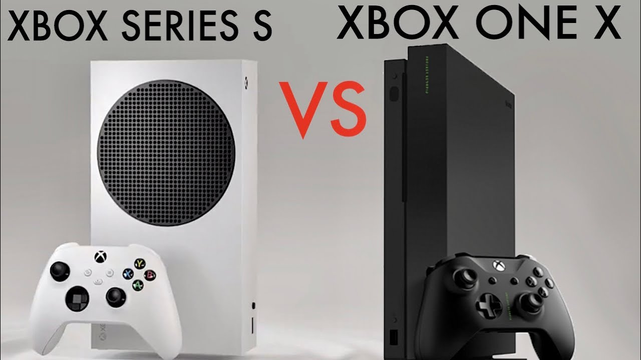 Xbox Series S Vs Xbox One X Quick Comparison Youtube