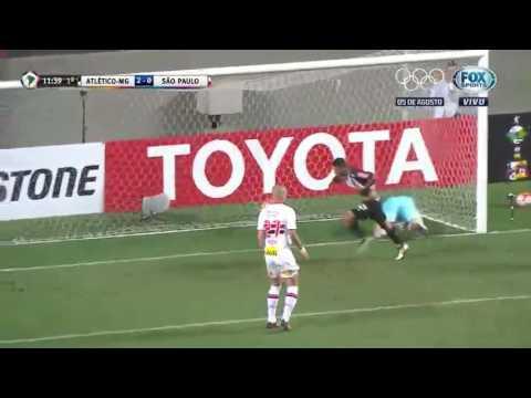 Atlético MG 2 x 1 São Paulo 2 gol do atletico