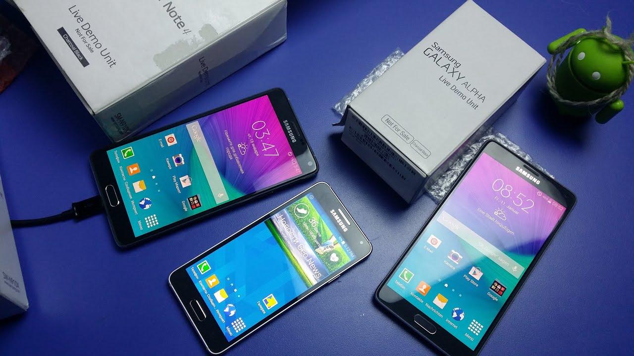 прошивка Samsung Galaxy S6 Edge Live Demo Unit - YouTube