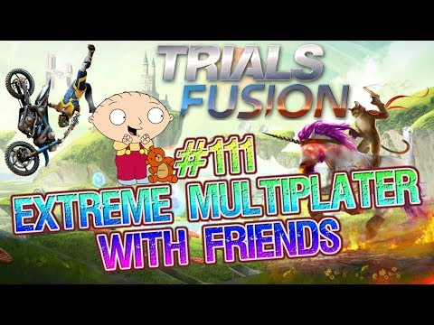 let's play trials fusion MULTIPLAYER #111 with GAMING CAVE and FRIENDS