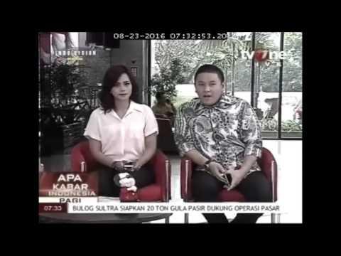 Apa Kabar Indonesia - TV One: Talkshow Bersama Kepala BKIP Kemenhub Dengan Tema Kisruh Taxi Online