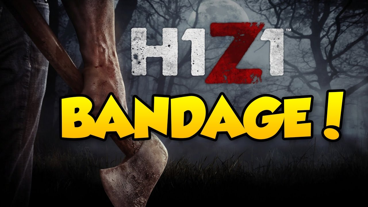 h1z1 king of the kill how to make bandages