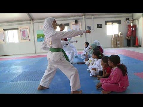التايكوندو ملاذ اللاجئات السوريات للدفاع عن أنفسهن  - 11:21-2017 / 7 / 8