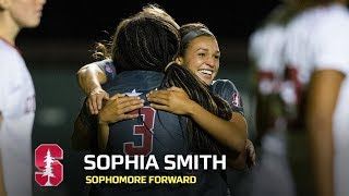 Sophia smith racked up 17 goals and nine assists as a sophomore on the farm received college cup most outstanding offensive player honors cardinal...