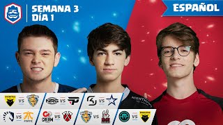 Clash Royale League: CRL West Fall 2019 | ¡Semana 3 Día 1! (Español)