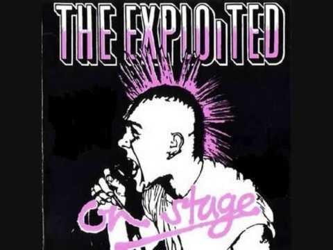 The Exploited (UK) - On stage 1981 FULL ALBUM