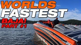 Worlds Fastest Baja boat PART 1: First shake down run!
