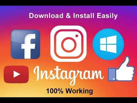 Download Istagram For PC [100% working] (No Blue Stacks or emulators) {Easy}
