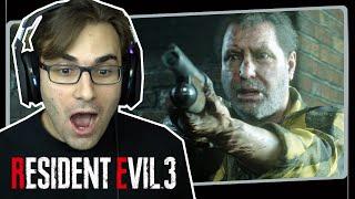 RESIDENT EVIL 3 Remake #3 - Caçadores Gama e Encontro com Nemesis | Gameplay em Português PT-BR
