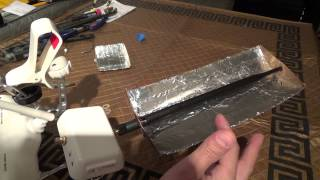 Aluminum Foil WiFi Antenna Mod Increase omni gain and FPV Range on Phantom 2 3 Inspire 1