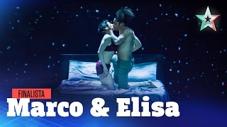Marco e Elisa fanno l'amore ballando