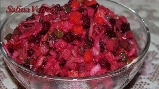 Салат  витаминный  Винегрет(Винегрет. Салат витаминный Винегрет. Простой, витаминный салат Винегрет, который состоит из отварных..., 2014-11-09T15:49:39.000Z)