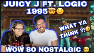(WELCOME BACK LOGIC) JUÏCY J & LOGIC - 1995 REACTION!