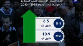 الإحصاءات: توقعات بارتفاع عدد السكان بنحو 9 6 مليون نسمة في 2050