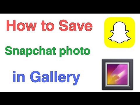 Snapchat Photo Gallery Me Save Kaise Kare   How To Save Snapchat Photo In Gallery  Technical RT