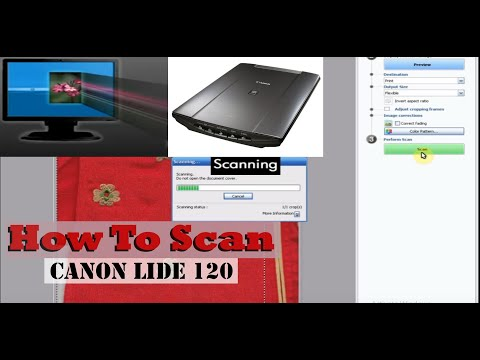 Cannot Communicate With The Scanner Canon Lide 120