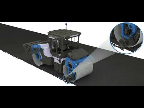 Road Construction Equipment Operation Asphalt Edge Cutters In 3D Animation